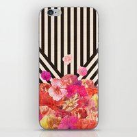 Floraline iPhone & iPod Skin