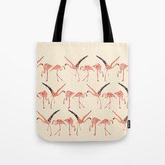 vanilla flamingos Tote Bag