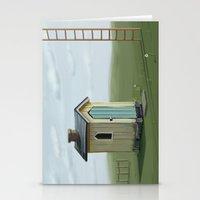 sky ladder Stationery Cards