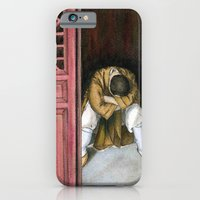 iPhone & iPod Case featuring praying chinese monk by Kelley Norcross