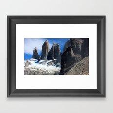 Torres del Paine, Patagonia Framed Art Print