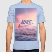 Just Do It (Cloud Edit) Mens Fitted Tee Tri-Blue SMALL