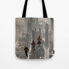 RUN THE TOWN Tote Bag