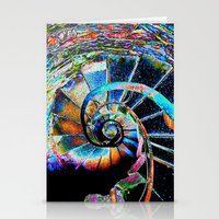 Stairway To Infinity Stationery Cards