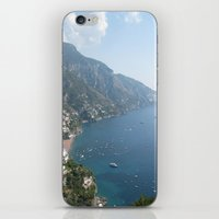 Amalfi Coast iPhone & iPod Skin