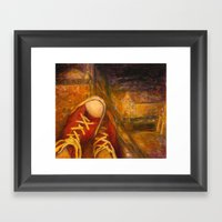 6 PM Framed Art Print