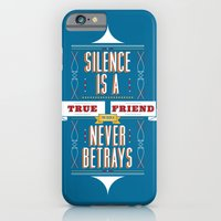 iPhone & iPod Case featuring Silence Is by Joseph Rey Velasquez