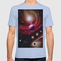 Stardust and solar wind. Mens Fitted Tee Athletic Blue SMALL