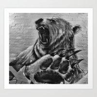 Bear Art Art Print
