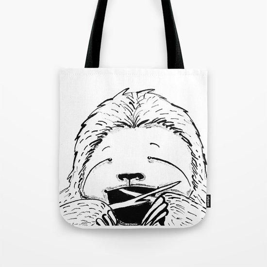 Hungry Sloth Tote Bag