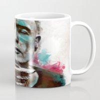 Marlon Brando under brushes effects Mug