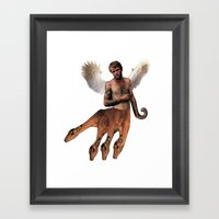 HYDRA PAN Framed Art Print