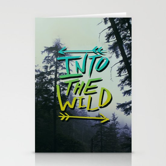 Into the Wild IV Stationery Card