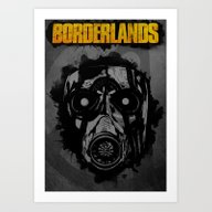 Art Print featuring Borderlands by Ryan Swannick