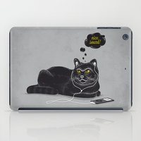 Chilling Cat iPad Case