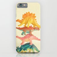 Dinosaur Antics iPhone 6 Slim Case