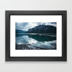 Lake Minnewanka II Framed Art Print