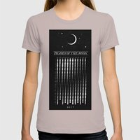 2015 Moon Calendar Womens Fitted Tee Cinder SMALL