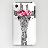 iPhone & iPod Case featuring FLOWER GIRL by Monika Strigel