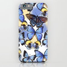 Pattern with butterflies Slim Case iPhone 6s