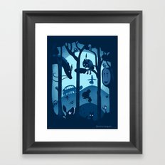 Magical Gathering Framed Art Print