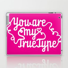 True Type. Laptop & iPad Skin