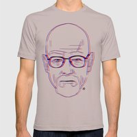 Walter White Mens Fitted Tee Cinder SMALL