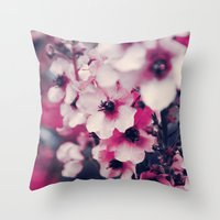 Everviolet Throw Pillow