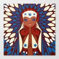 FIFA 2014 Samba Girls Series: Honduras Canvas Print
