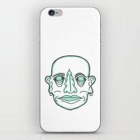 PUNK MONK iPhone & iPod Skin
