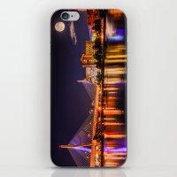 Moon Light Over Zakim Br… iPhone & iPod Skin