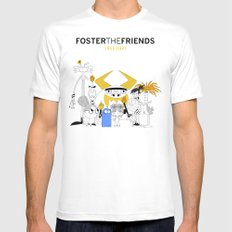 Foster the Friends Mens Fitted Tee White SMALL