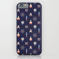 iPhone Cases featuring Science by Wharton