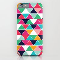 iPhone & iPod Case featuring love triangle by Vy La