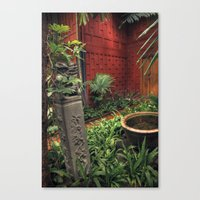 Jim Thompson's house - Bangkok - Thailand Canvas Print