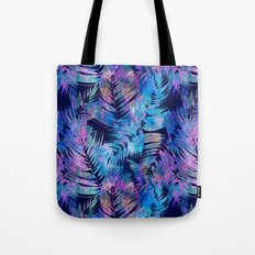 Waikiki Tropic {Blue} Tote Bag