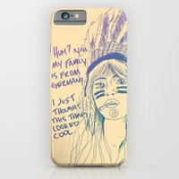 iPhone & iPod Case featuring Attention Whore - Color by Fyza Hashim