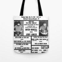#16 Memphis Wrestling Window Card Tote Bag