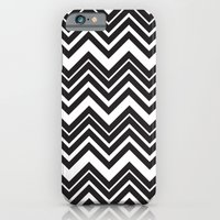 Black Chevron iPhone 6 Slim Case
