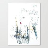 Mohawk Fantasy Canvas Print