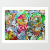 yes you are Art Print