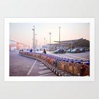 India New Delhi Airport 5471 Art Print