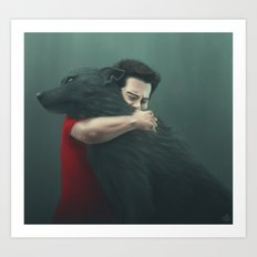 I will always find you Art Print