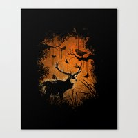 Lost Deer Canvas Print