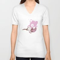 Love Birds Unisex V-Neck