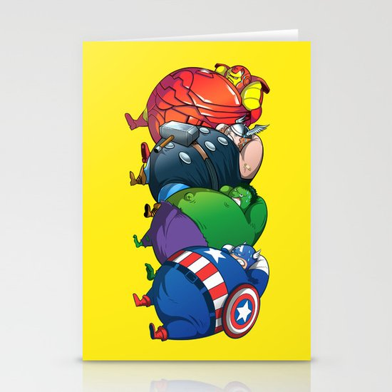 TUBY : Avengers Stationery Card