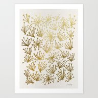 Art Print featuring Queen Anne's Lace #2 by Cat Coquillette