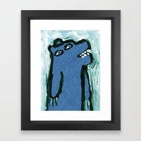 Art Bear Framed Art Print