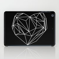 Heart Graphic (Black) iPad Case