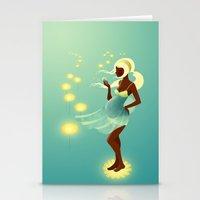 Herbal Remedies: Dandelion Stationery Cards